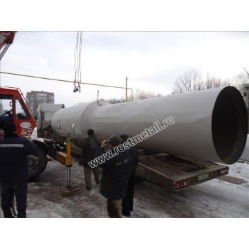 Водонапорная башня Рожновского 50м3 опора - 18м диаметр 1850мм