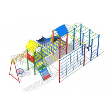 Детский игровой комплекс Солярис 09