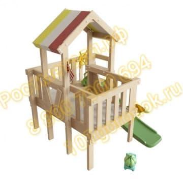 Детский игровой чердак Скуби для дома и дачи