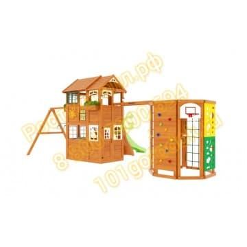 Детские городки Клубный домик 2 с WorkOut Luxe