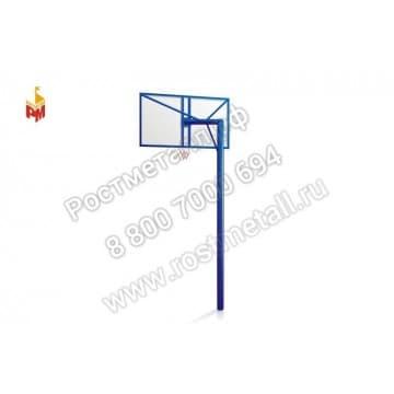 Щит баскетбольный со стойкой 02