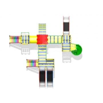 Детский игровой комплекс Изумрудный город