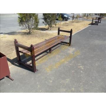 Лавка парковая Комфорт без спинки
