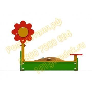 Песочница Цветочек