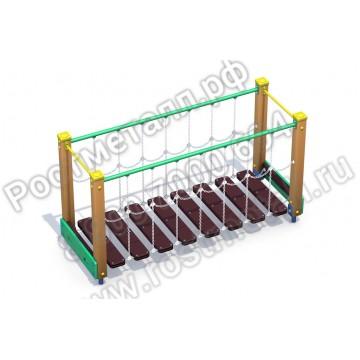 Детский  элемент Подвесной мостик