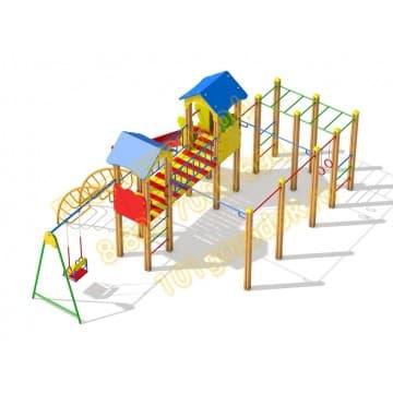 Детский игровой комплекс Солярис КБ