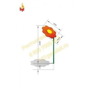 Теневой навес (мини) Ромашка