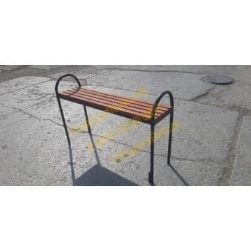 Скамейка уличная Эконом без спинки