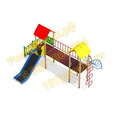 Детский игровой комплекс Два брата 02