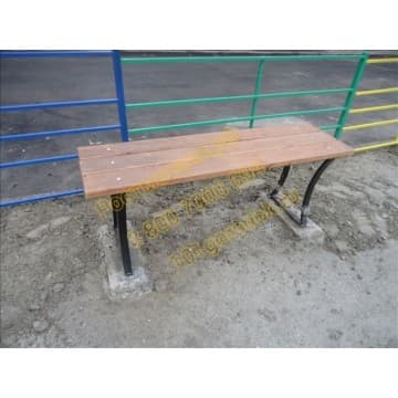 Скамейка уличная Стандарт без спинки