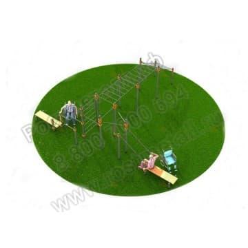 Спортивный комплекс для инвалидов-колясочников 009