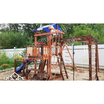 Детский игровой комплекс Бретань семейная