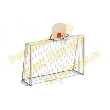 Ворота комбинированные (футбол/баскетбол)