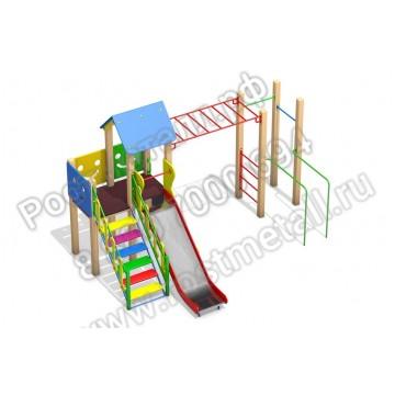Детский игровой комплекс Улыбка КБ