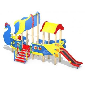 Детский игровой комплекс Летучий корабль