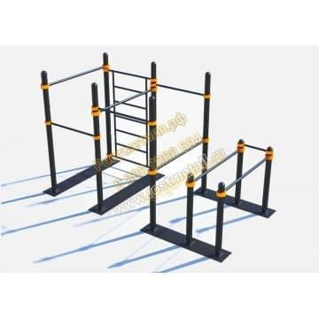 Мобильный спортивный комплекс 4