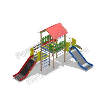 Детский игровой комплекс Веселое детство