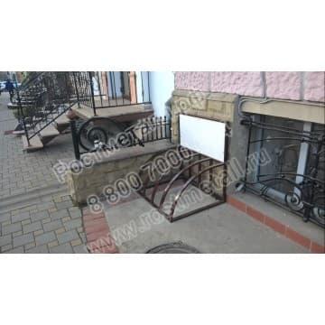 Велопарковка Реклама