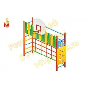 Детский гимнастический комплекс Баскетболист