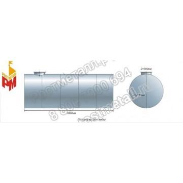 РГС 35 м3 - Резервуар горизонтальный стальной