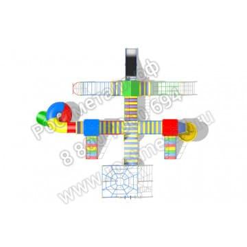 Детский игровой комплекс Солнечный город
