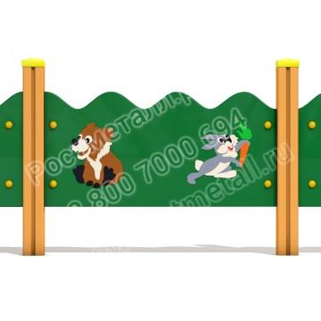 Ограждение для детской площадки №2