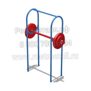 Штанга для упражнений стоя