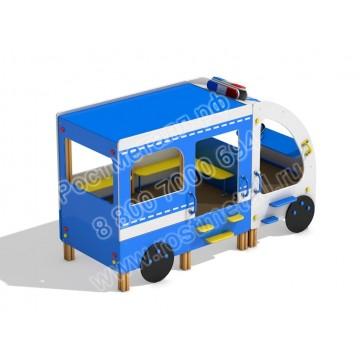 Домик для детей Автобус ДПС