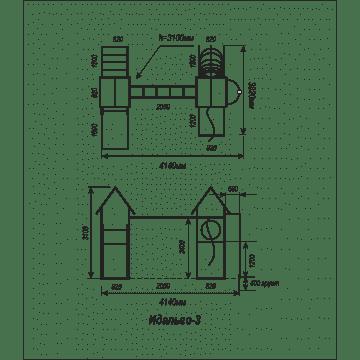 Детский игровой комплекс Идальго 3