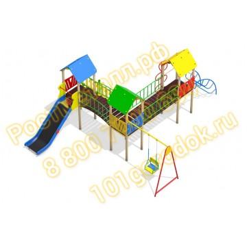 Детский игровой комплекс Полюс