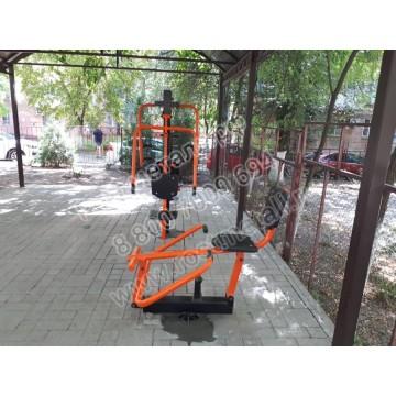 Уличный тренажер Гребля КВ