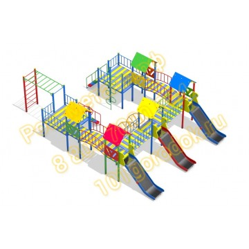 Детский игровой комплекс Форт Пост 03