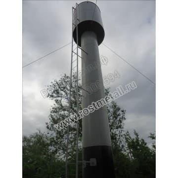 Водонапорная башня Рожновского 50м3 опора - 18м диаметр 1220