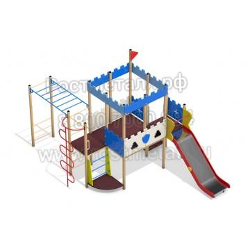 Детский игровой комплекс Пост ДПС 02
