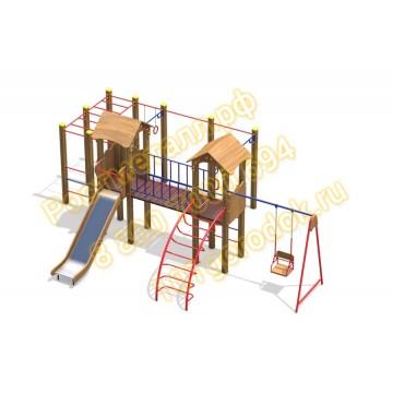 Детский игровой комплекс Солярис КБ ЭКО