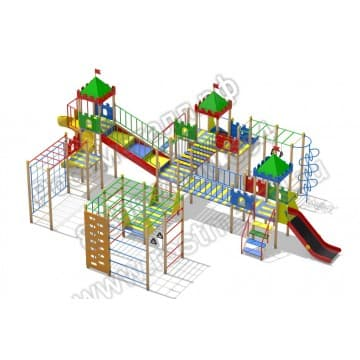 Детский игровой комплекс Волшебный дворик