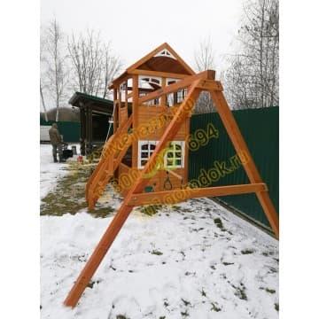Детские городки Клубный домик 2 Luxe