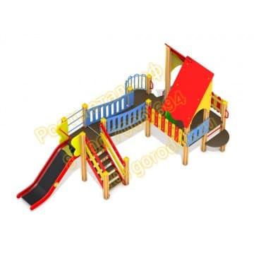 Детский игровой комплекс Веселый островок