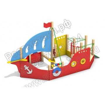 Детский игровой комплекс Кораблик КБ