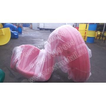 Горка пластиковая винтовая