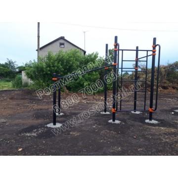 Спортивный комплекс для инвалидов-колясочников 001