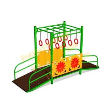 Детский игровой комплекс Переправа для детей с ОВ