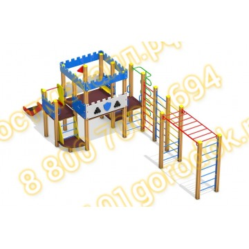 Детский игровой комплекс Пост ДПС 04