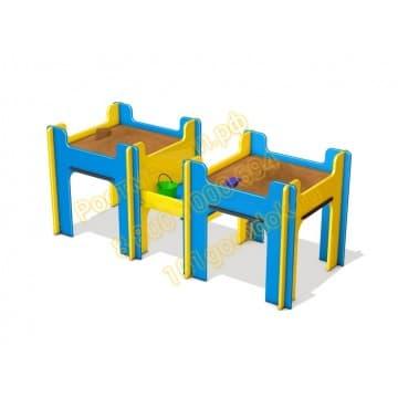 Песочница Двойная для детей с ОВ