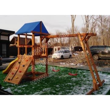 Детский игровой комплекс Сибирика с рукоходом