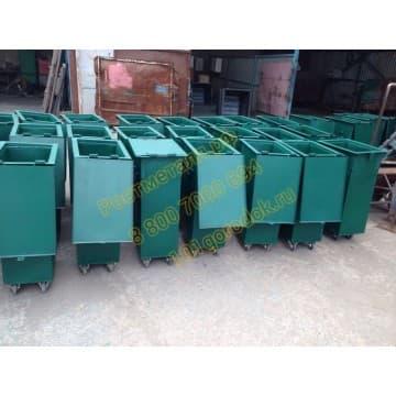 Контейнер металлический для мусора судовой