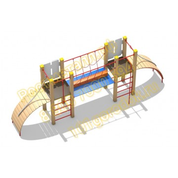 Детский игровой комплекс ЖД Переход