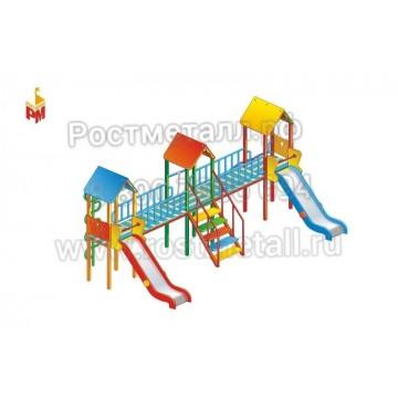 Детский игровой комплекс Три богатыря