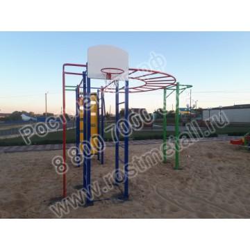 Детский спортивный комплекс Баскетболист 02