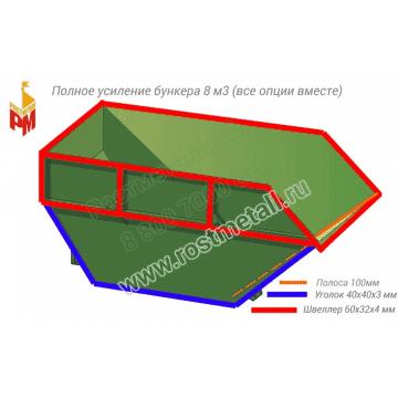 Полное усиление бункера 8м3